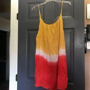 Dip dyed dress